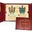 Thumbnail: Lámina heráldica 2 apellidos con carpeta y 2  llaveros DINA3
