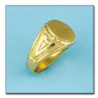 Sello oro 18 Kl. 15x14 mm. 8,3 gr. para grabar