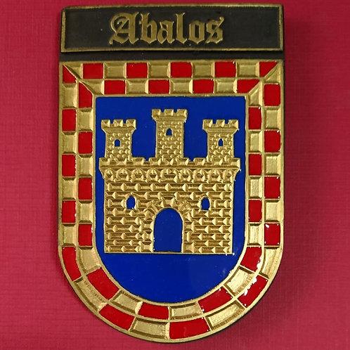 Abalos ( escudo del apellido en esmalte)