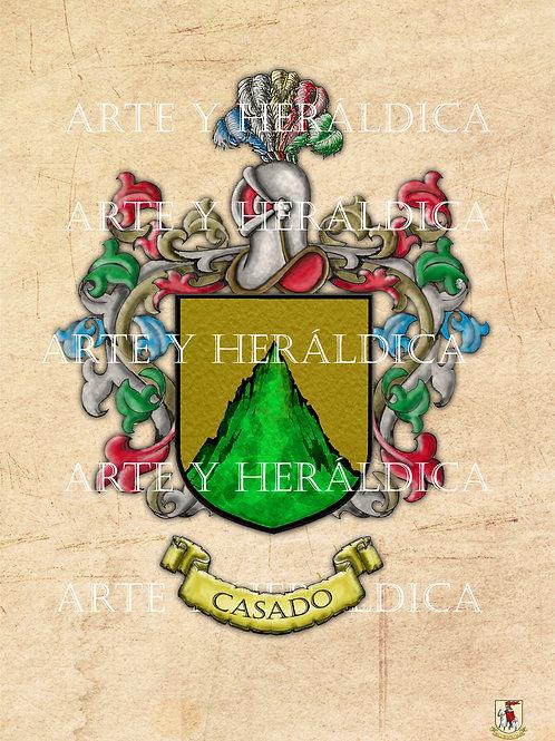 Casado escudo vintage PDF