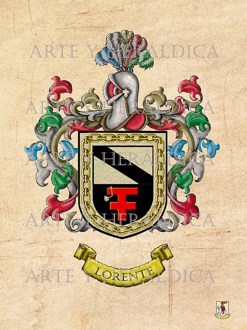 Lorente escudo vintage PDF