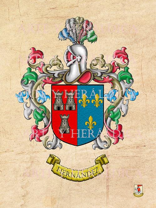 Hernández escudo vintage en PDF