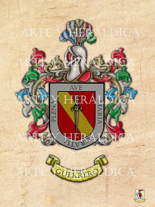 Guerrero escudo vintage PDF