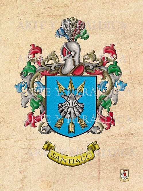 Santiago escudo vintage PDF