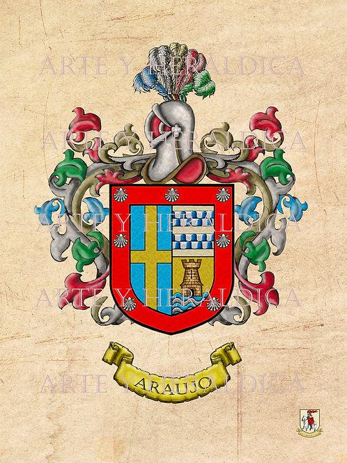 Araujo escudo vintage PDF