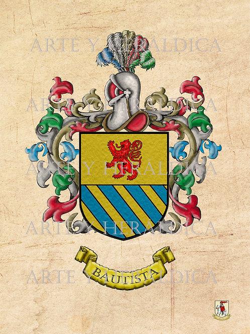 Bautista escudo  Vintage en PDF