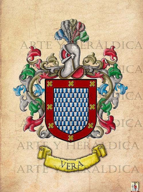 Vera escudo Vintage en PDF