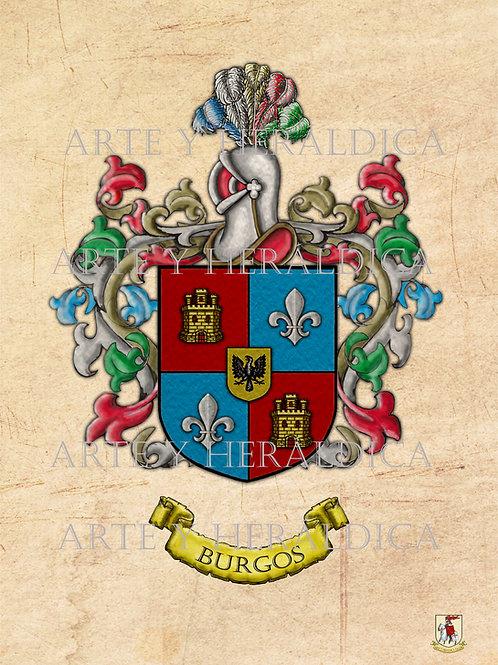 Burgos escudo vintage PDF