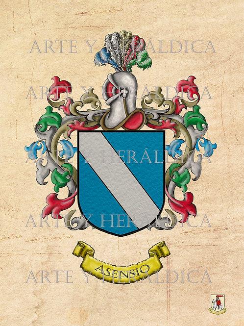 Asensio escudo Vintage en PDF