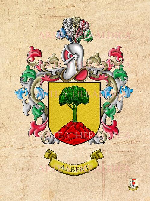 escudo del apellido Albert