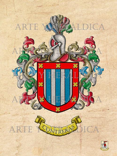 Contreras escudo Vintage en PDF