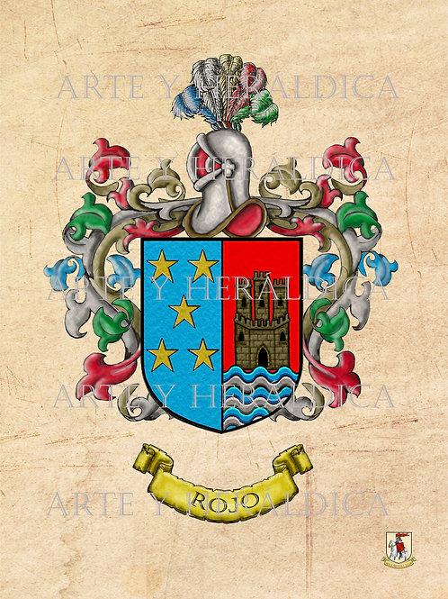 Rojo escudo vintage PDF