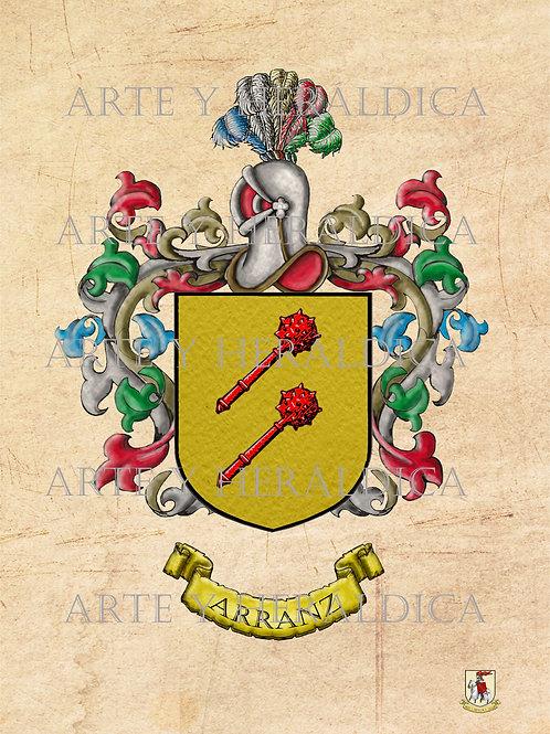 Arranz escudo vintage en PDF