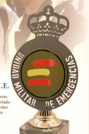 U.M.E. (Unidad  militar de emergencia) escudo emblema