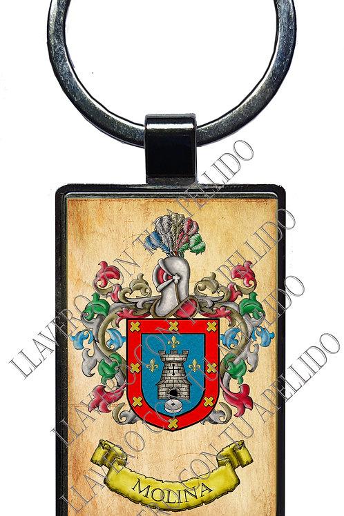 Molina,  llavero Heráldico