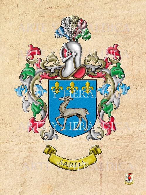 Sardá escudo vintage en PDF