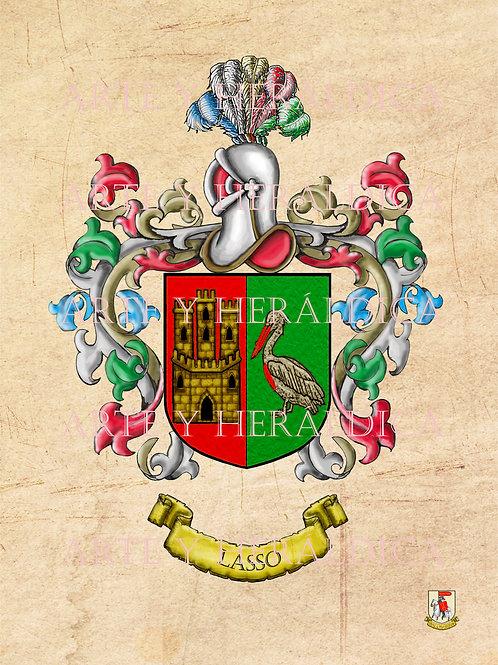 Lasso escudo vintage en PDF