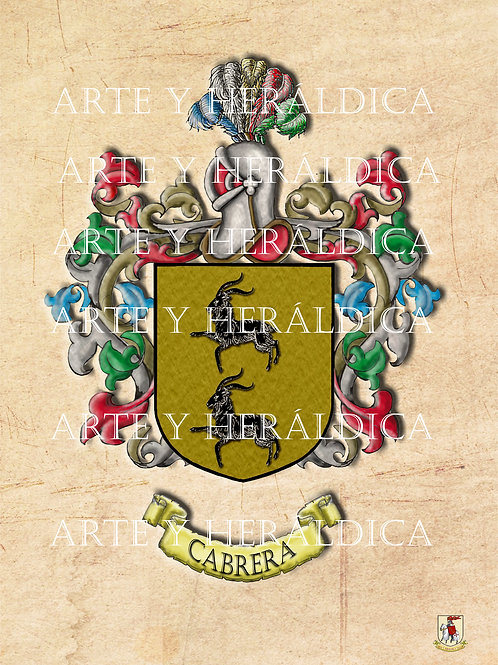 Cabrera escudo vintage PDF