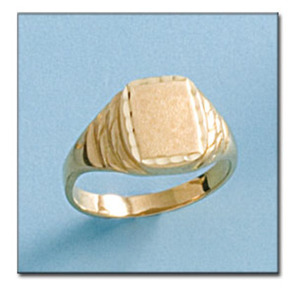 Sello oro 18 Kl. 10X13 mm. 5,5 gr. para grabar