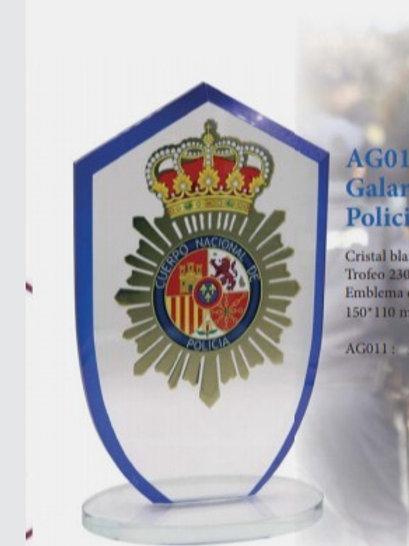 Galardón  Policía Nacional