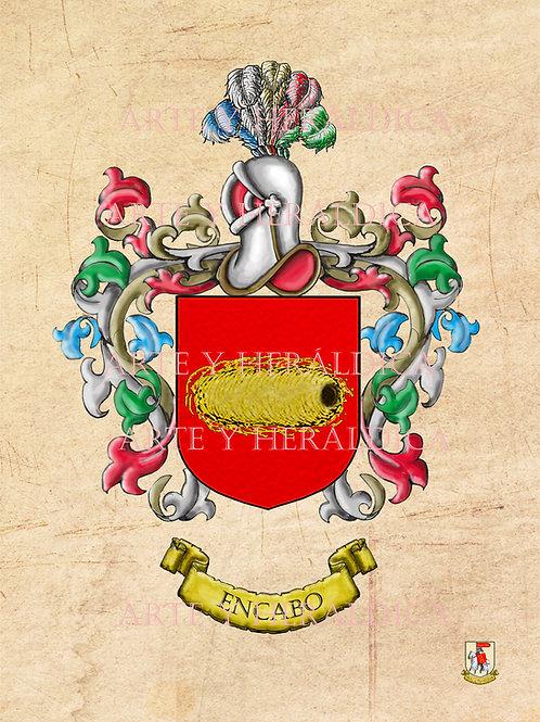 escudo del apellido Encabo