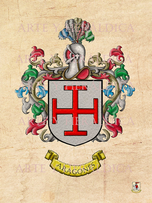 Aragonés escudo vintage PDF