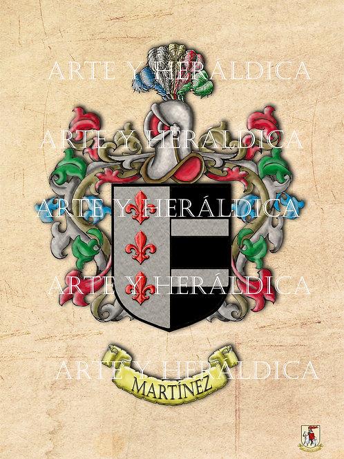 Martínez escudo vintage PDF