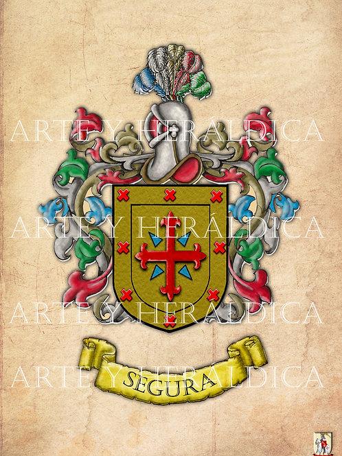 Segura escudo vintage en PDF