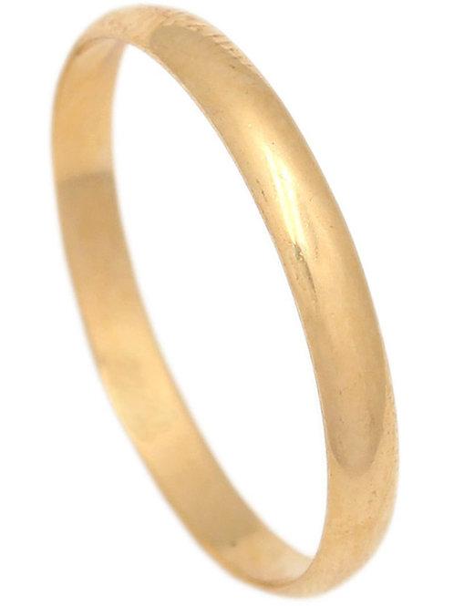 Alianza oro 2.50 mm