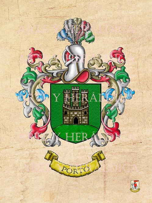 Porto escudo vintage en PDF