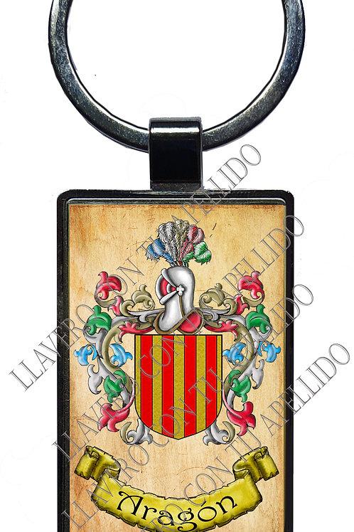 Aragón ,  llavero Heráldico