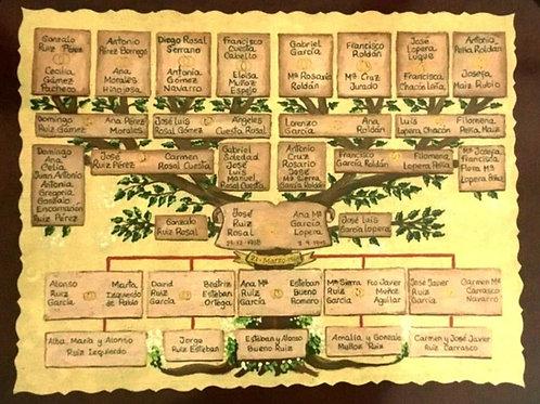 arbol-genealogico-pintado-a-mano
