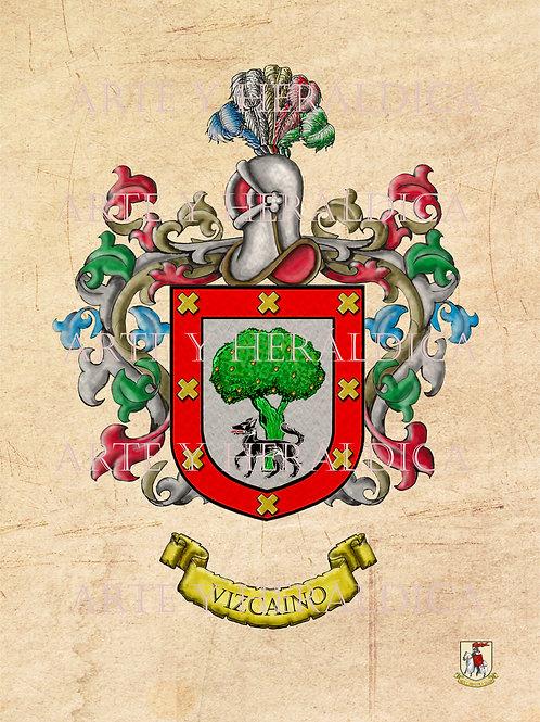 Vizcaino escudo vintage PDF