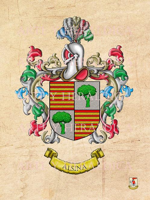 Alsina escudo vintage en PDF