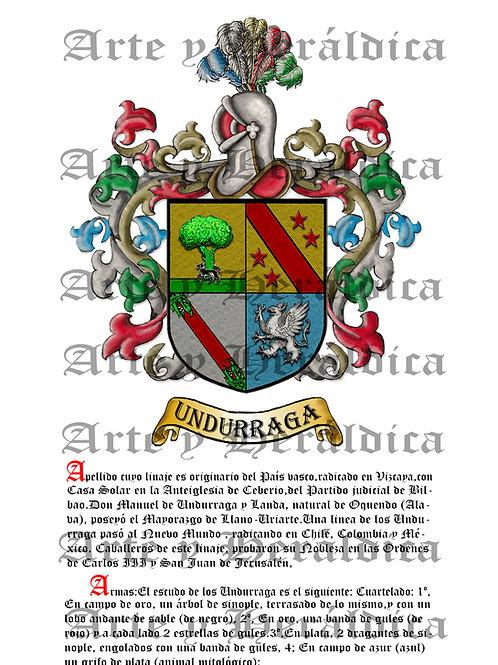 Undurraga escudo con historia PDF