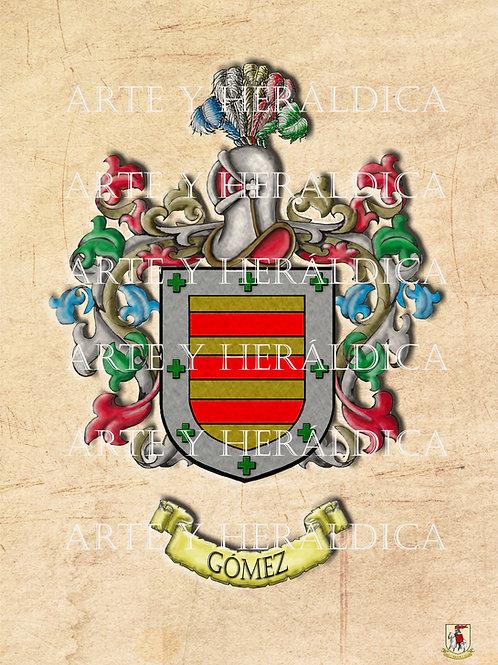 Gómez escudo vintage PDF