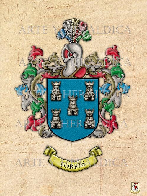 Torres escudo vintage PDF