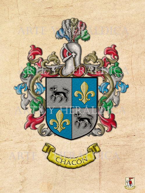 Chacón escudo vintage PDF