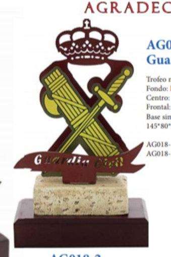 Trofeo guardia civil (tamaño pequeño)