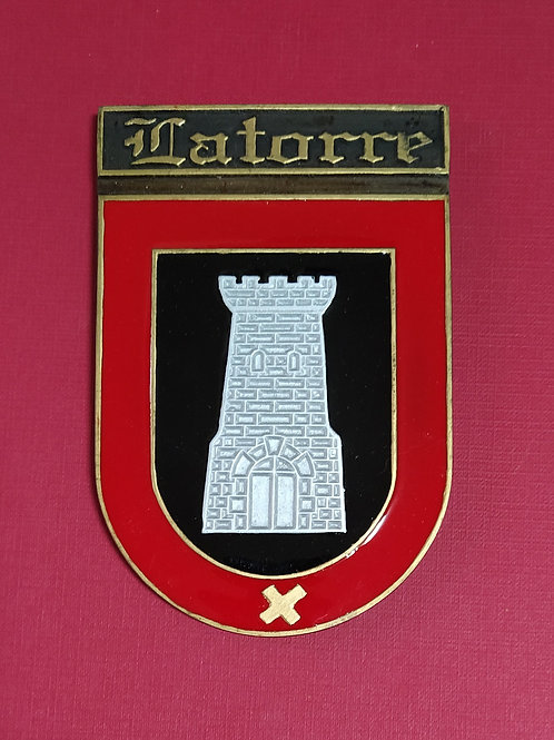 Latorre ( escudo en esmalte)