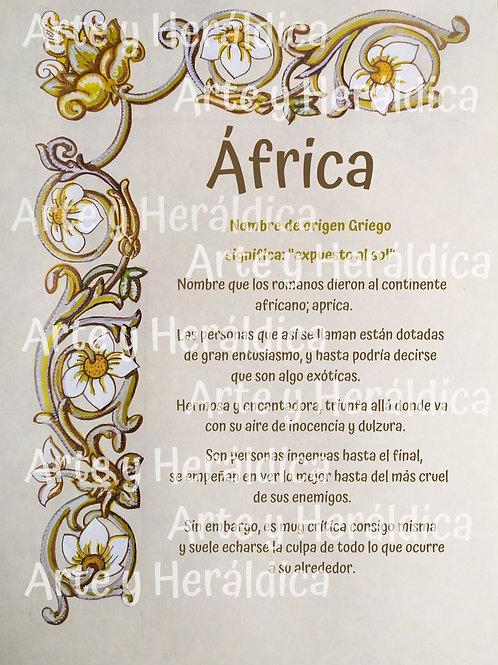 África, origen del nombre para descargar