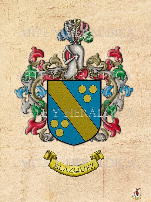 Blázquez escudo vintage PDF