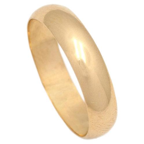 Alianza oro amarillo 5 mm
