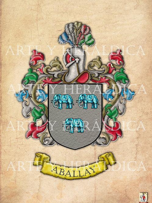 Aballay escudo vintage en PDF