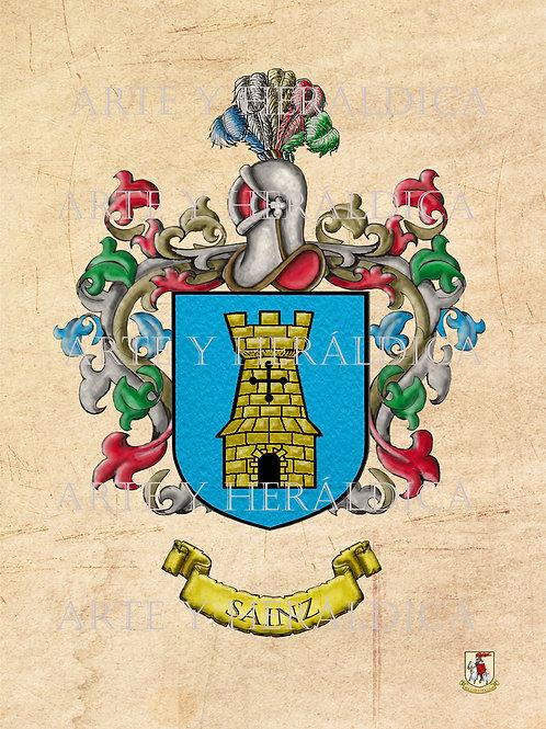 Sáinz escudo vintage PDF