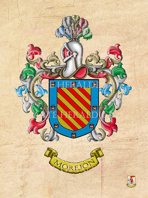 Morejón escudo vintage en PDF