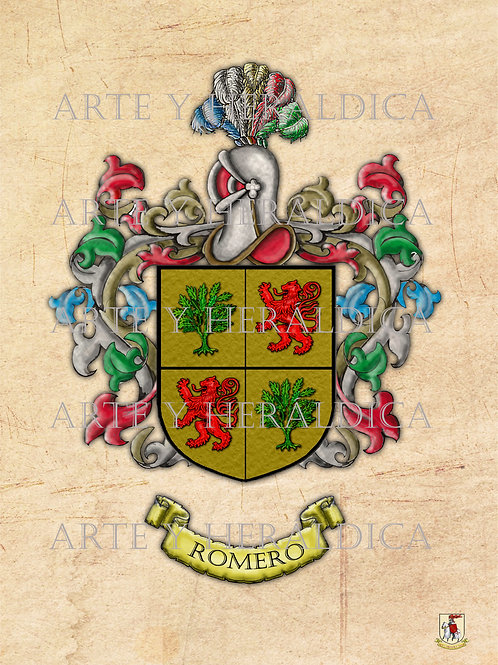 Romero escudo vintage PDF
