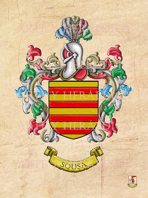 Sousa escudo vintage en PDF