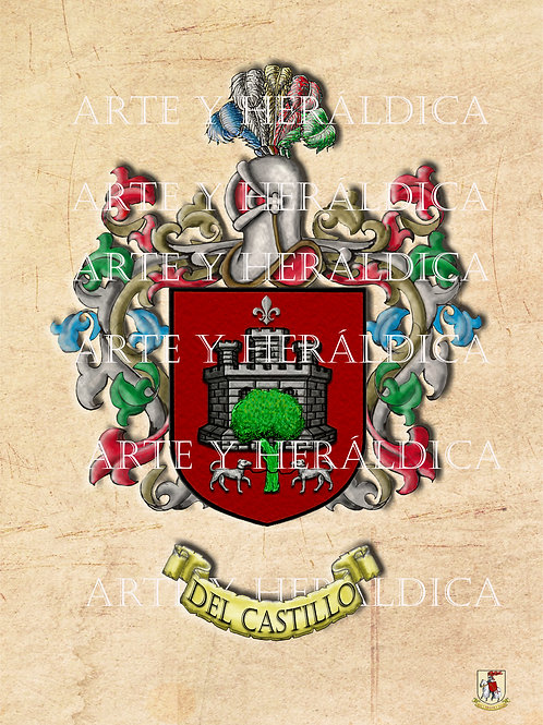 Del Castillo escudo vintage PDF