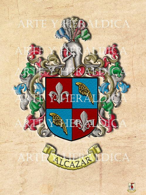 Alcázar escudo vintage PDF